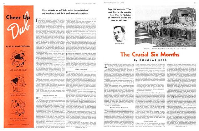 Article Preview: The Crucial Six Months, June 1941 | Maclean's