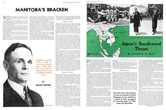 Article Preview: MANITOBA'S BRACKEN, June 1941 | Maclean's