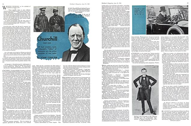 Article Preview: Churchil, June 1941 | Maclean's