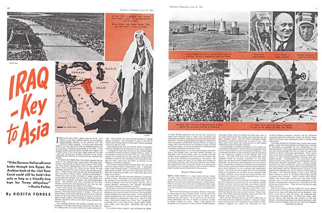 Article Preview: IRAQ-Key to Asia, June 1941 | Maclean's