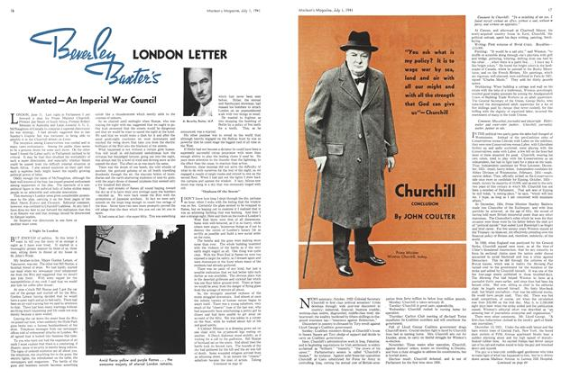 Article Preview: LONDON LETTER, July 1941 | Maclean's