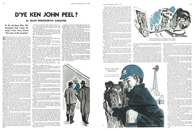 Article Preview: D'YE KEN JOHN PEEL?, July 1941 | Maclean's