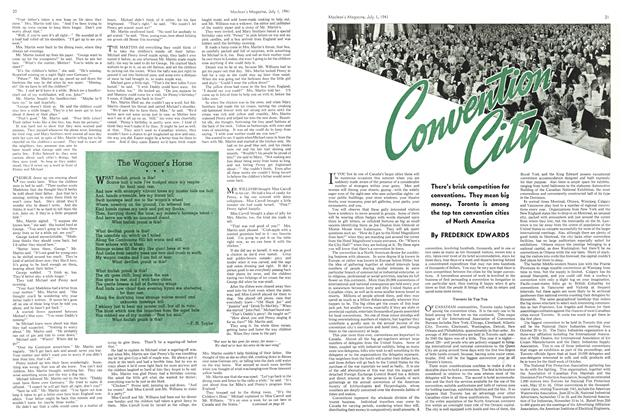 Article Preview: Convention City, July 1941 | Maclean's