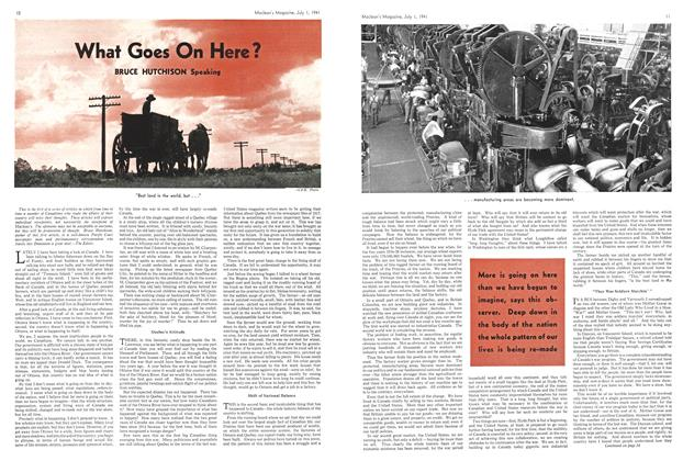Article Preview: What Goes On Here?, July 1941 | Maclean's