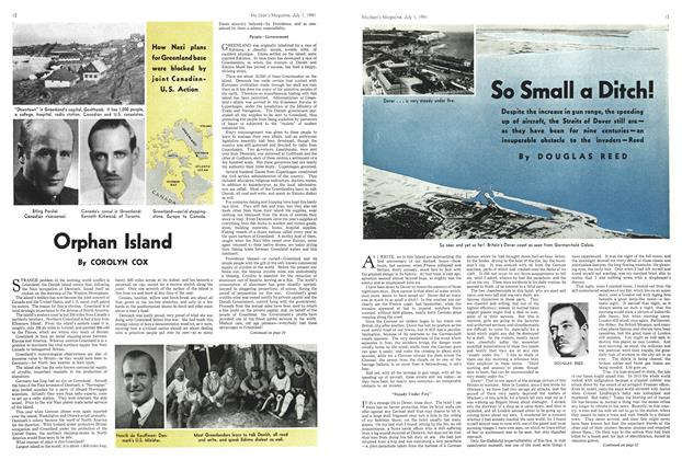 Article Preview: So Small a Ditch!, July 1941 | Maclean's
