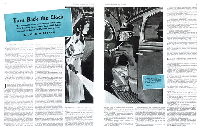 Article Preview: Turn Back the Clock, July 1941 | Maclean's