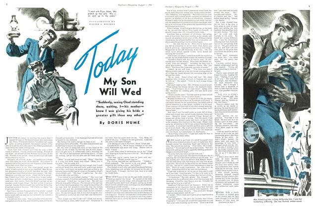 Article Preview: Today My Son Will Wed, August 1941 | Maclean's