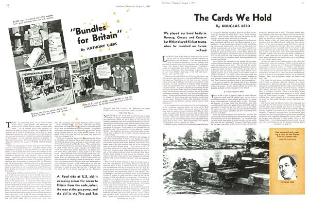 Article Preview: The Cards We Hold, August 1941 | Maclean's