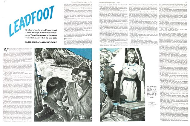 Article Preview: LEADFOOT, August 1941 | Maclean's