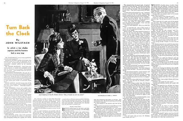 Article Preview: Turn Back the Clock, TORONTO AUGUST 15 1941 1941 | Maclean's