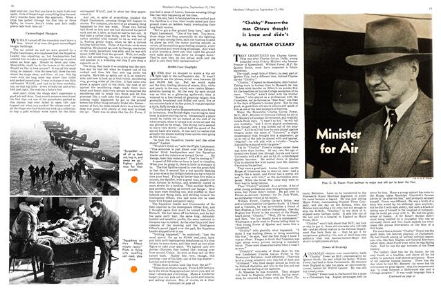 Article Preview: Minister for Air, September 1941 | Maclean's