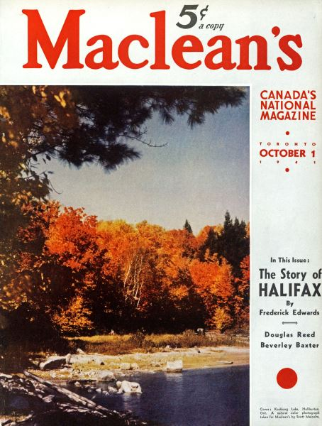 Issue: - October 1941   Maclean's