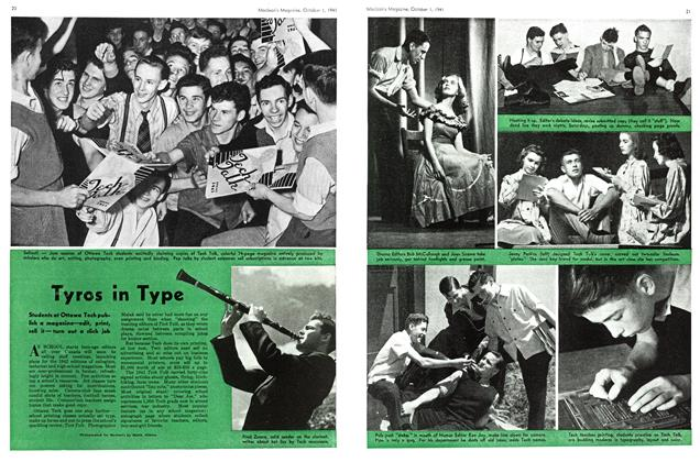 Article Preview: Tyros in Type, October 1941 | Maclean's