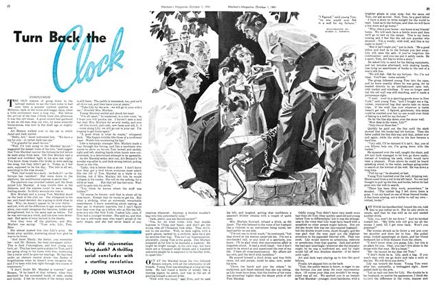 Article Preview: Turn Back the Clock, October 1941 | Maclean's