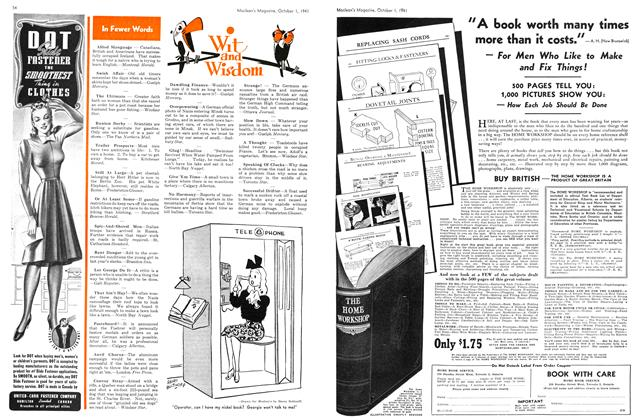 Article Preview: Wit and Wisdom, October 1941 | Maclean's