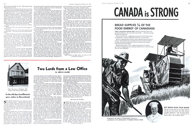 Article Preview: Two Lords from a Law Office, October 1941 | Maclean's