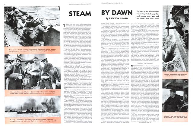 Article Preview: STEAM BY DAWN, October 1941 | Maclean's