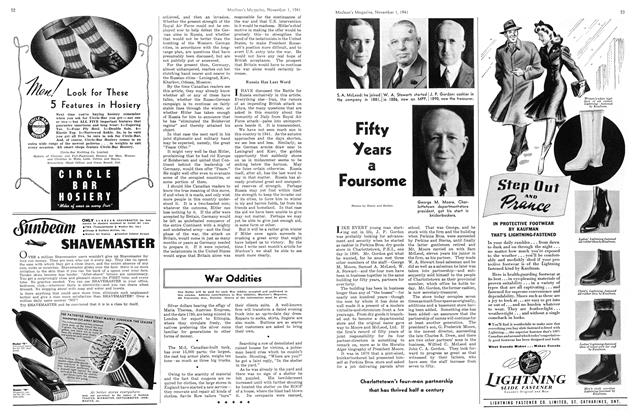 Article Preview: Fifty Years a Foursome, November 1941 | Maclean's