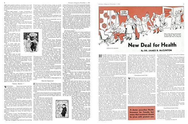 Article Preview: New Deal for Health, November 1941 | Maclean's