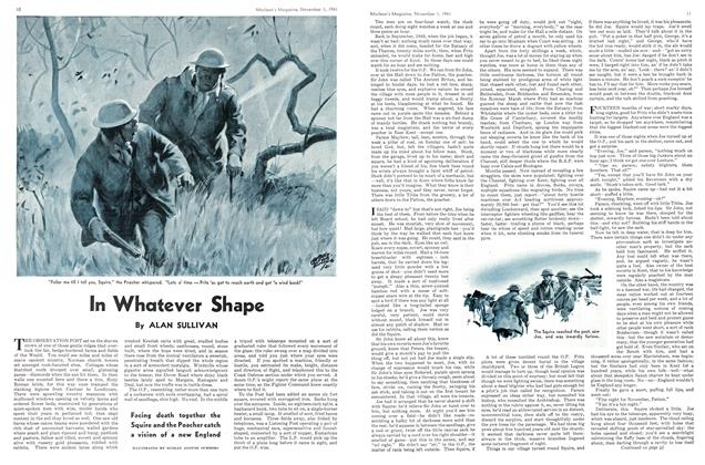 Article Preview: In Whatever Shape, November 1941 | Maclean's