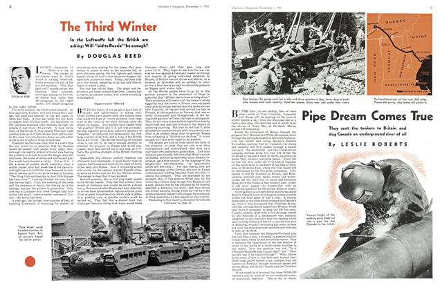 Article Preview: Pipe Dream Comes True, November 1941 | Maclean's