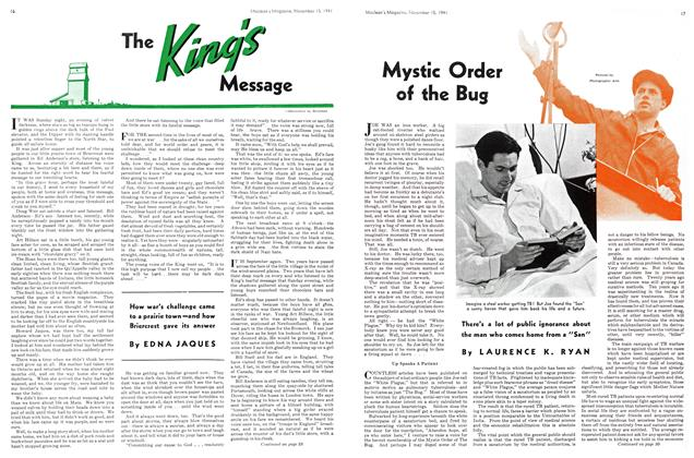 Article Preview: The King Message, November 1941   Maclean's