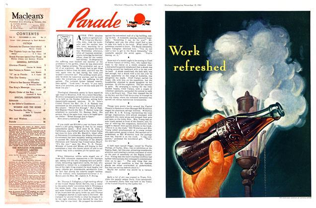 Article Preview: Parade, November 1941 | Maclean's