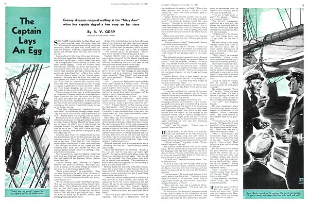 Article Preview: The Captain Lays An Egg, November 1941 | Maclean's