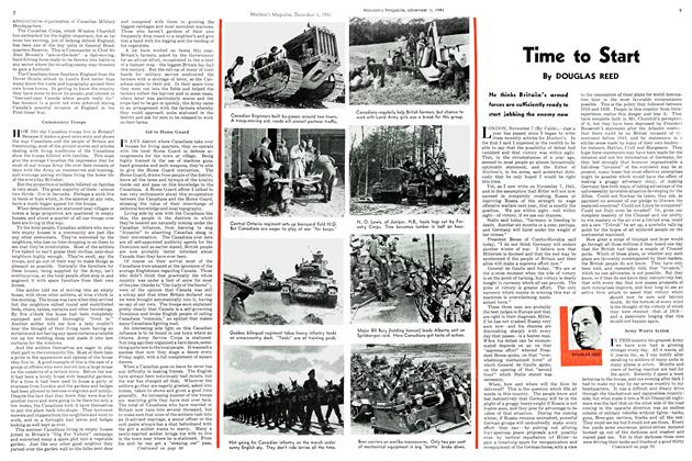 Article Preview: Time to Start, December 1941   Maclean's