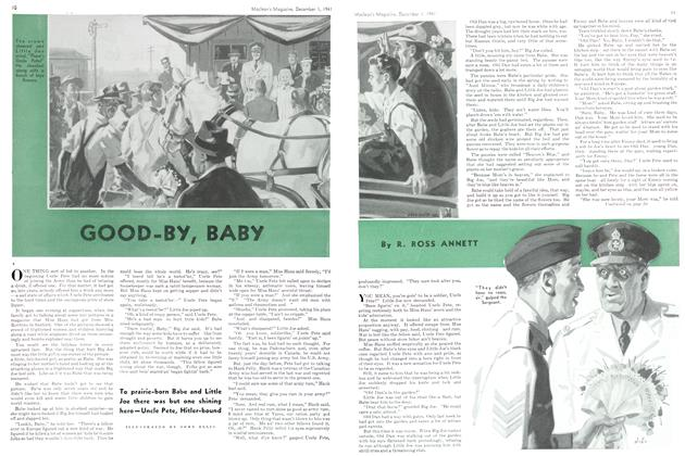 Article Preview: GOOD-BY, BABY, December 1941 | Maclean's