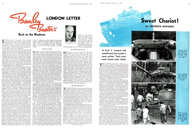 Article Preview: Sweet Chariot!, December 1941 | Maclean's