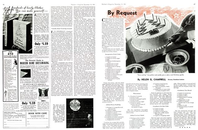 Article Preview: By Request, December 1941 | Maclean's
