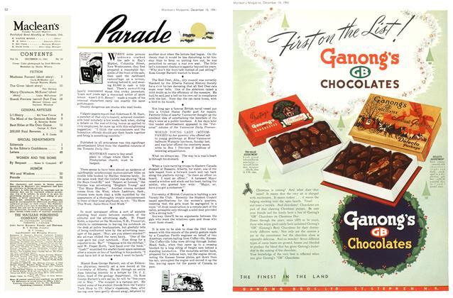 Article Preview: Parade, December 1941 | Maclean's