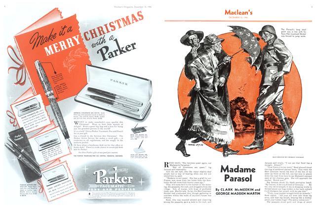Article Preview: Madame Parasol, December 1941 | Maclean's