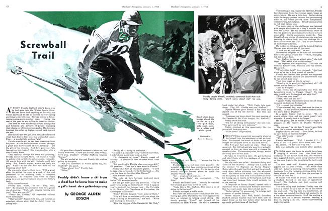 Article Preview: Screwball Trail, January 1942 | Maclean's