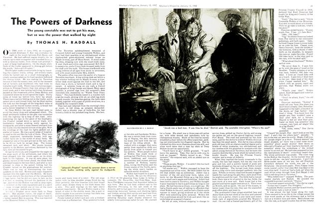 Article Preview: The Powers of Darkness, TORONTO JANUARY 15 1942 1942 | Maclean's