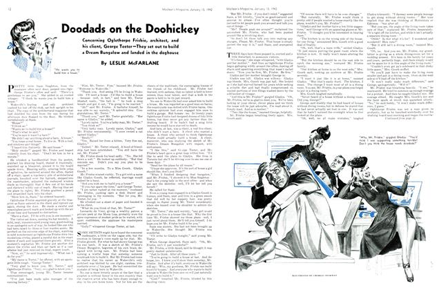 Article Preview: Doodads on the Doohickey, TORONTO JANUARY 15 1942 1942 | Maclean's