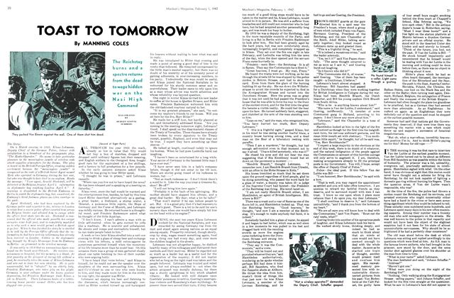 Article Preview: TOAST TO TOMORROW, February 1942 | Maclean's