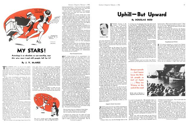 Article Preview: Uphill—But Upward, February 1942 | Maclean's