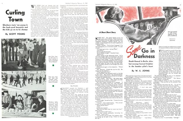 Article Preview: Curling Town, February 1942 | Maclean's