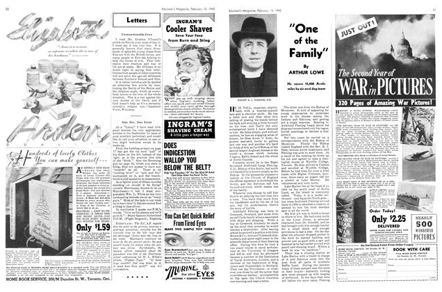 "Article Preview: ""One of the Family"", February 1942 