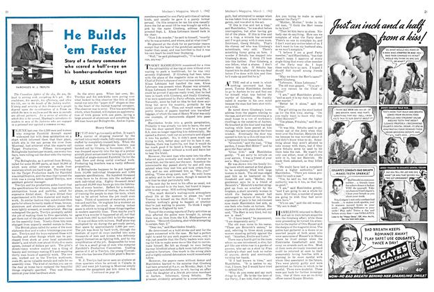 Article Preview: He Builds 'em Faster, March 1942 | Maclean's