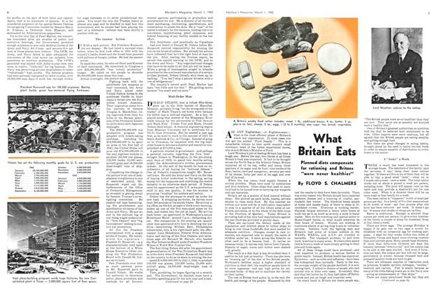 Article Preview: What Britain Eats, March 1942 | Maclean's