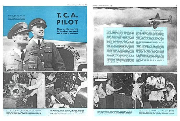 Article Preview: T. C. A. PILOT, March 1942 | Maclean's