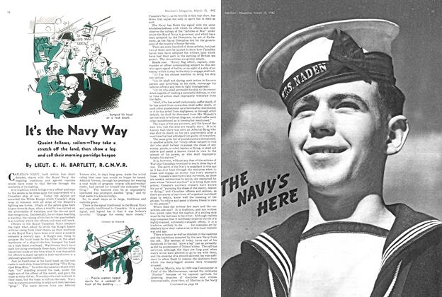 Article Preview: It's the Navy Way, March 1942 | Maclean's