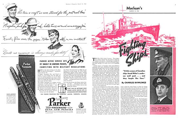 Article Preview: Fighting Ships, March 1942   Maclean's