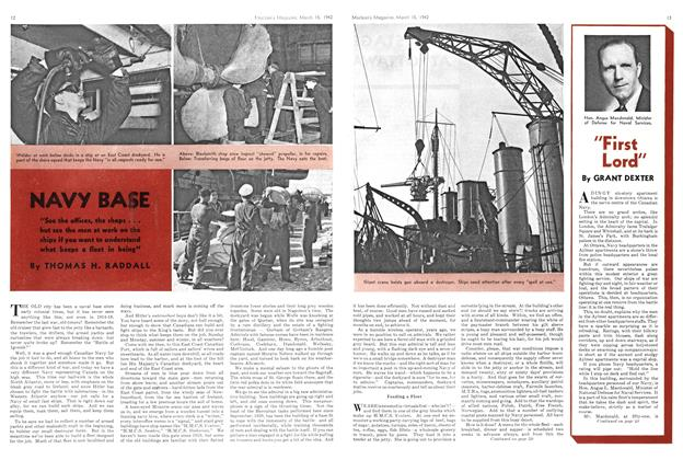 Article Preview: NAVY BASE, March 1942 | Maclean's