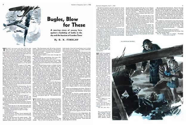 Article Preview: Bugles, Blow for These, April 1942 | Maclean's