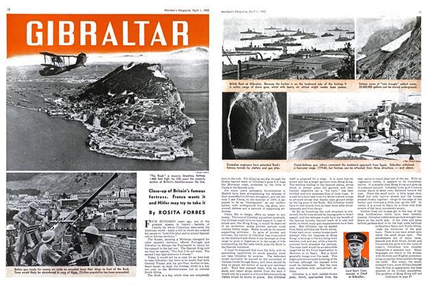 Article Preview: GIBRALTAR, April 1942   Maclean's