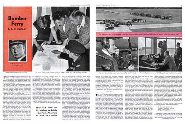 Article Preview: Bomber Ferry, April 1942 | Maclean's